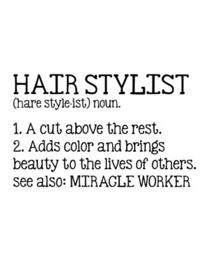 Hairstylist Description