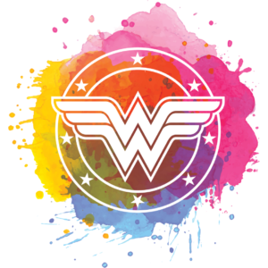Colourful Wonder Woman Pocket