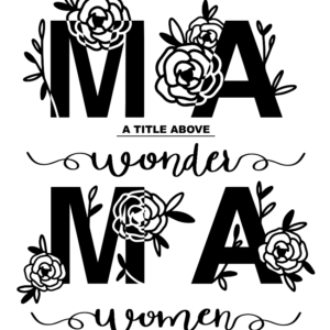 Mama - a title above Wonder Woman