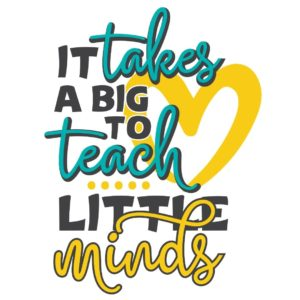It takes a big heart to teach little minds design