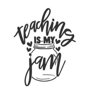 Teaching is my jam design