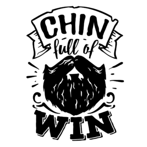 Chin full of win